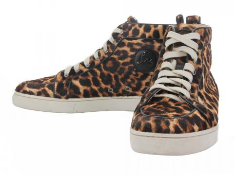 wholesale dealer 5ac1f d499c Sell Christian Louboutin Rantus Orlato Pony Leopard Sneakers ...