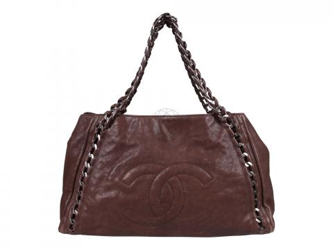 a0cd50c0a86b Sell Chanel Modern Chain E W Tote Bag - Brown