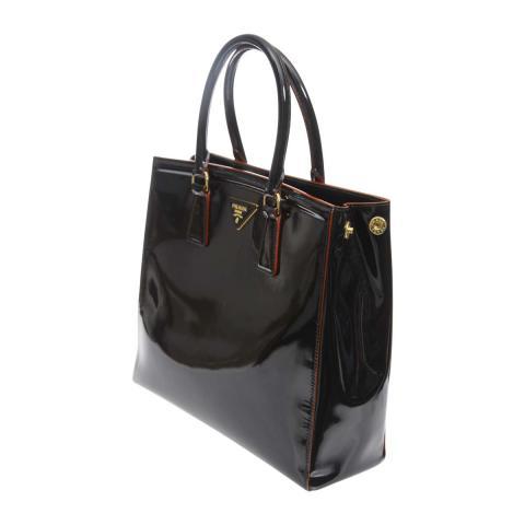 f3c1cb3824 ... Prada Parabole Spazzolato Tote Bag - Black. PrevNext