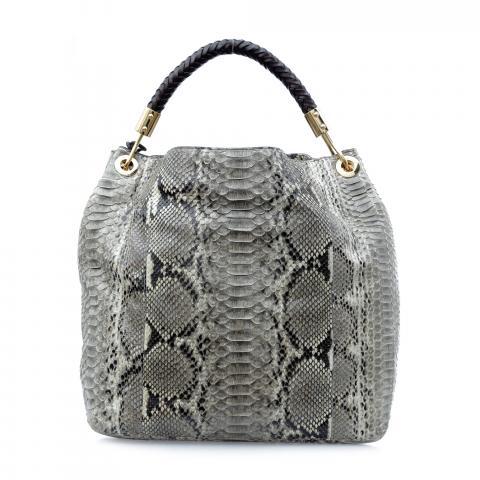 772903d2fdd ... Michael Kors Skorpios Python Print Shoulder Bag - Grey. PrevNext