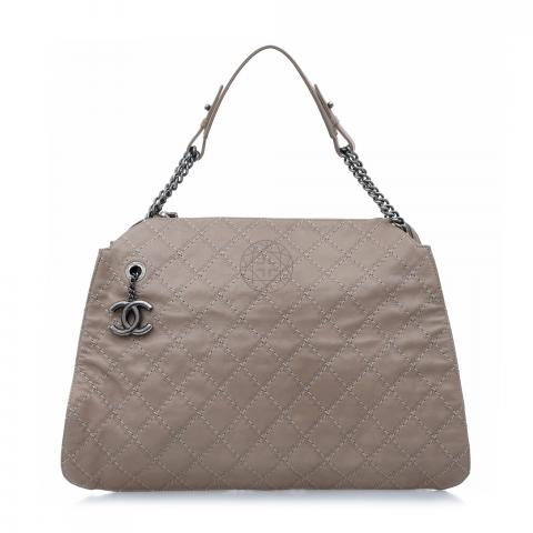 7044c56a4bcf Sell Chanel Chic and Soft Large Shopping Tote Bag - Beige   HuntStreet.com