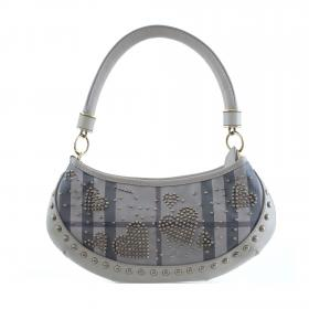Burberry · Studded Heart Two Way Bag Leather 2cedf40b7a07d