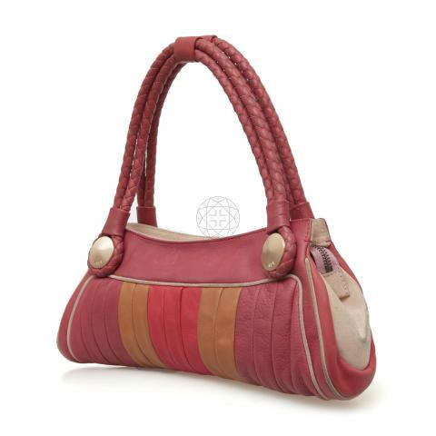 2c0e575721ac ... Fendi Colorblock Radio Bag - Beige Red Pink. PrevNext