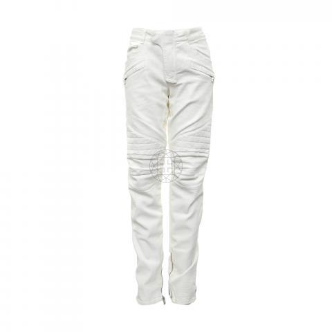 Sell Balmain X H M Men S Biker Jeans White Huntstreet Com