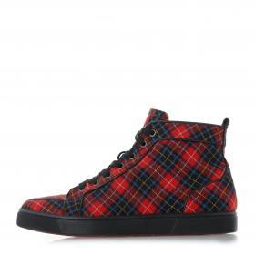 400b2517ce6 Christian Louboutin · Rantus Orlato Tartan Sneakers
