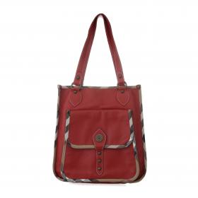 d59a1fa8457b Burberry · Vintage Leather Tote Bag