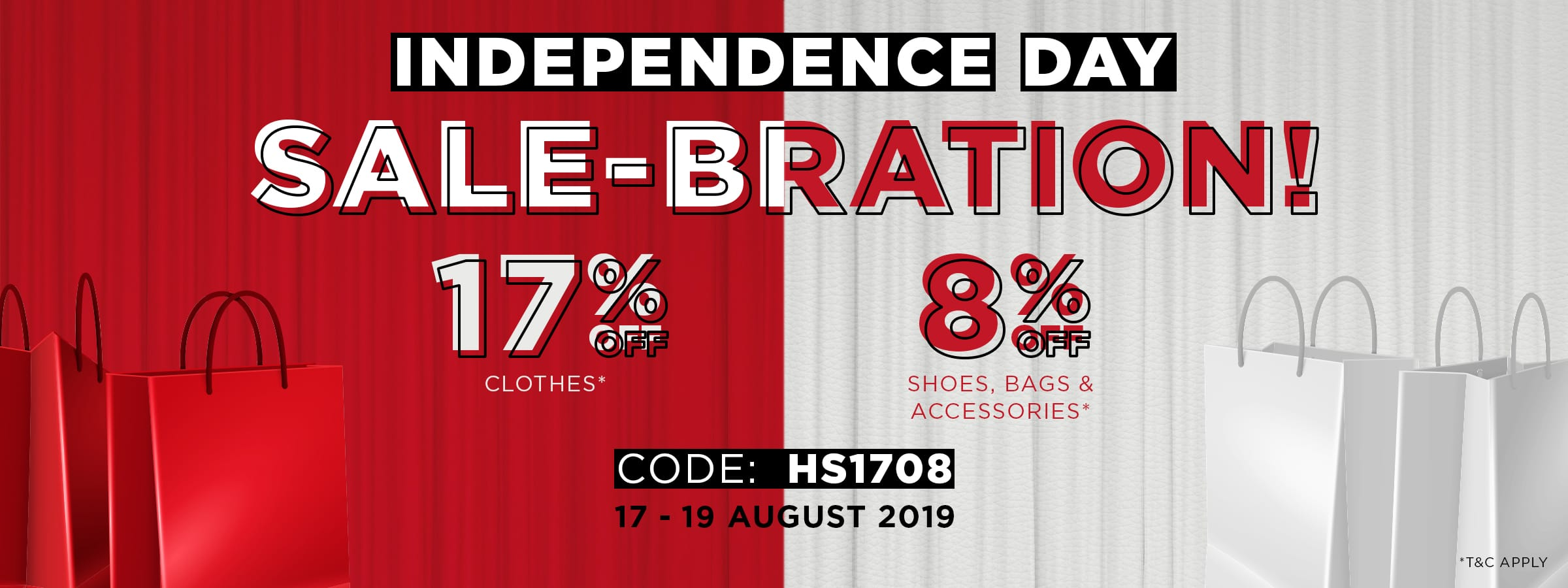 Independence Day SALE-BRATION