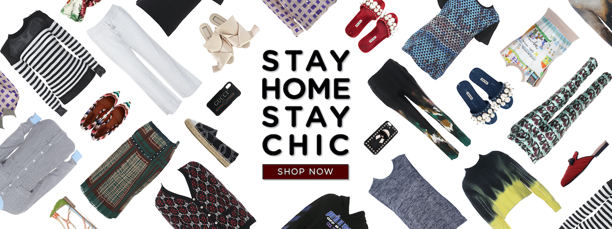 STAY HOME, STAY CHIC
