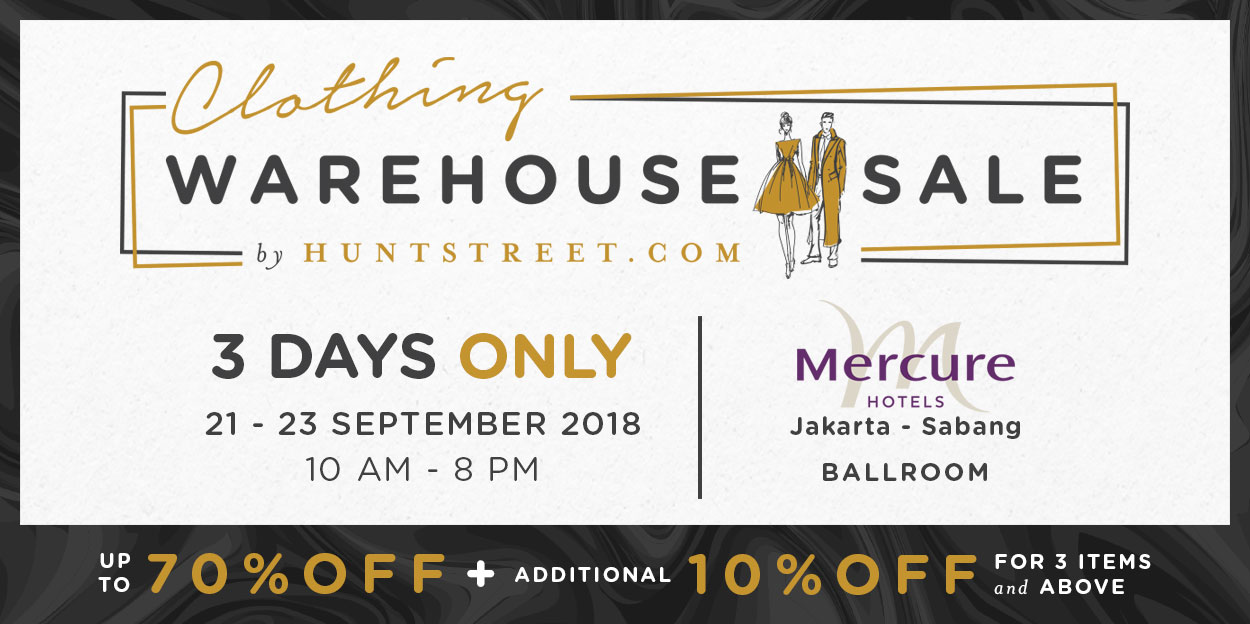 Clothing Warehouse Sale
