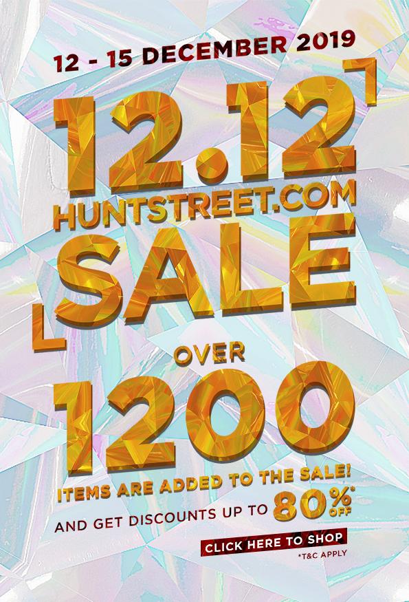 HuntStreet 12.12 SALE