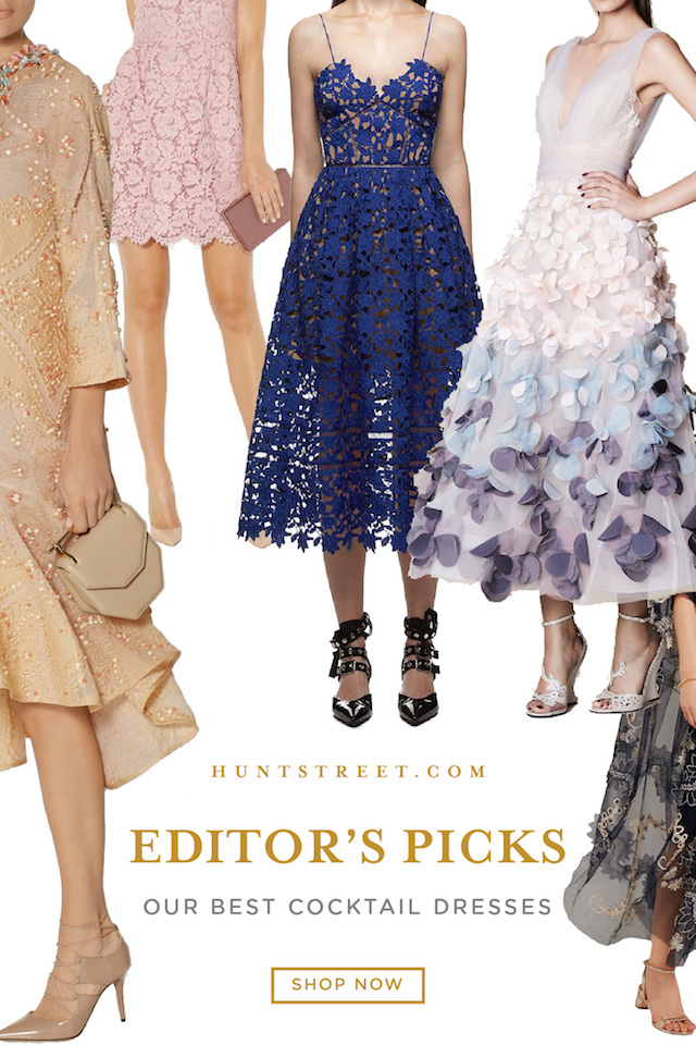 Editor's Picks - Our Best Cocktail Dresses