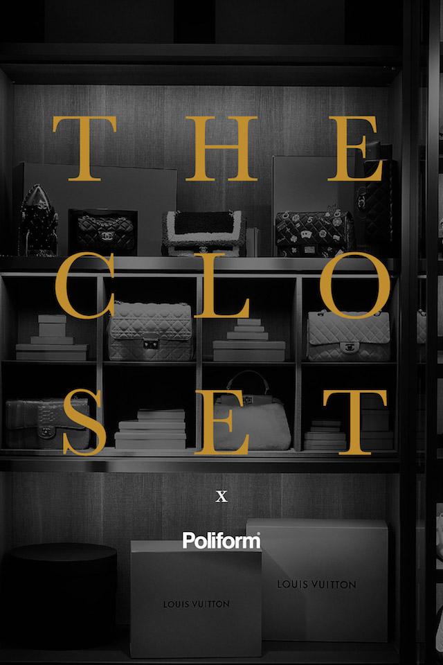 The Closet x Poliform
