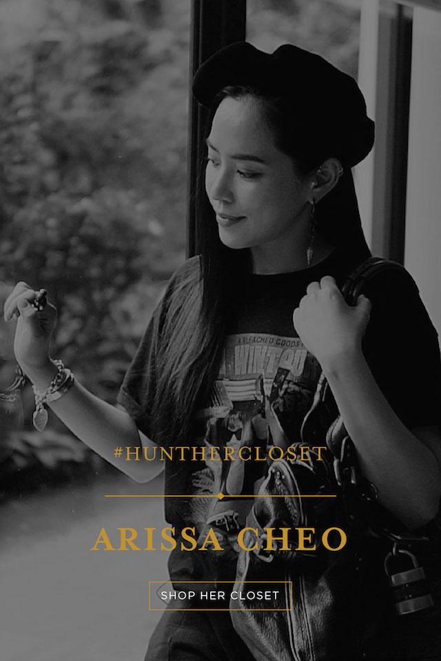 #HUNTHERCLOSET: Arissa Cheo